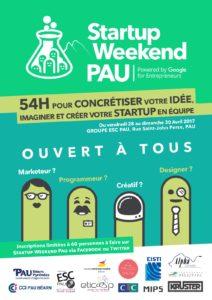 Startup weekend à Pau