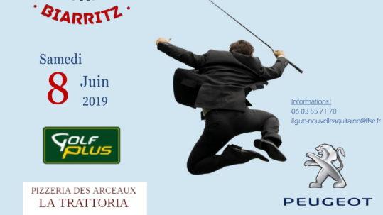 Le challenge de golf des entreprises de Biarritz